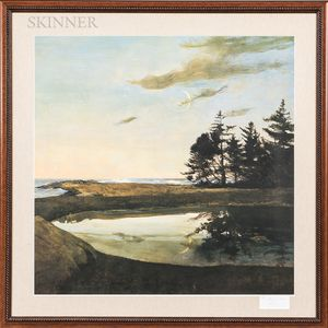 Andrew Newell Wyeth (American, 1917-2009)      Jupiter