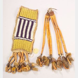 Two Central Plains Tipi Ornaments