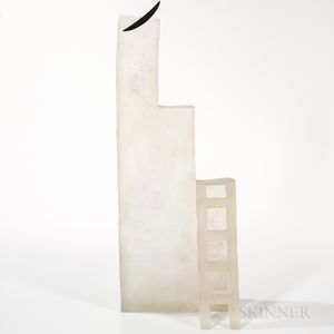 Naomi Shioya The Ladder   Art Glass Sculpture