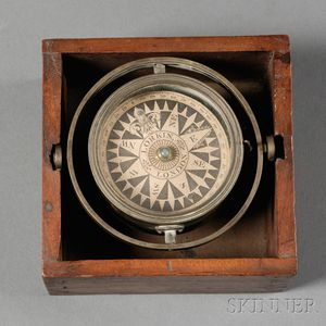 Gimballed Box Compass by Lorkin