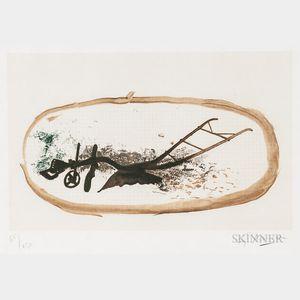 Georges Braque (French, 1882-1963)      La charrue