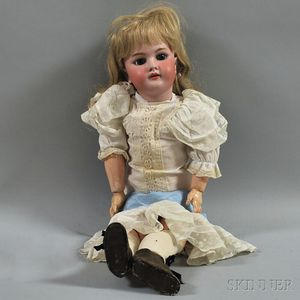 Handwerck Bisque Head Girl Doll