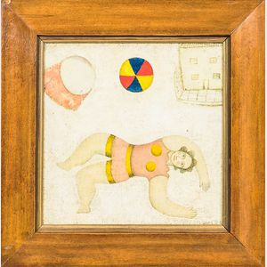 George Fredericks (British, b. 1929)      Backbend and House