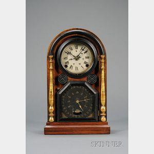 """Italian No. 2"" Rosewood Calendar Clock by Welch, Spring & Company"