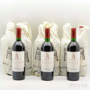 Chateau Latour 1990, 9 bottles