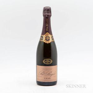 Pol Roger Extra Cuvee de Reserve Rose 1998, 1 bottle