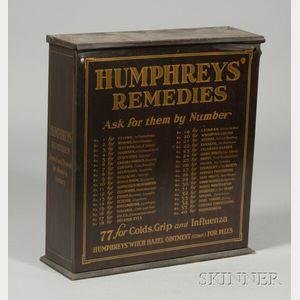 Humphrey's Remedies Countertop Medical Cabinet