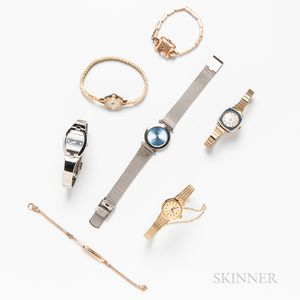 Group of Lady's Wristwatches