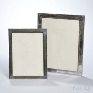 Two Tiffany & Co. Sterling Silver Picture Frames