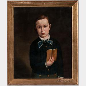 American School, 19th Century    Portrait of Jamie Gregory
