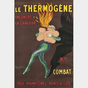 Leonetto Cappiello (French, 1875-1942)      Le thermogène engendre la chaler...
