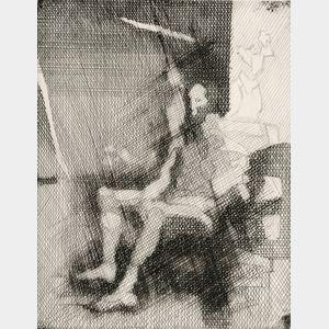 Jacques Villon (French, 1875-1963)      Le peintre