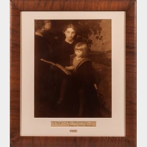 George de Forest Brush (1855-1941) Signed Reproduction