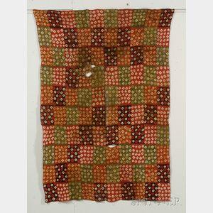Pre-Columbian Tie-Dye Textile