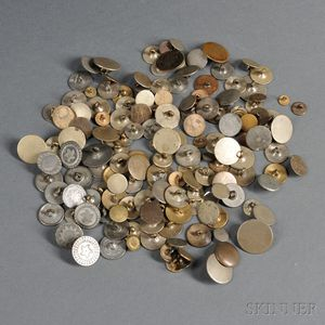 Group of Coin Buttons