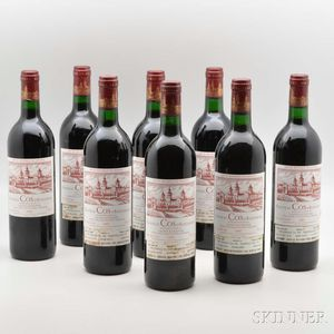 Chateau Cos dEstournel 1985, 8 bottles