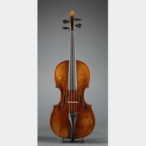 Composite Violin, Attributed to Giovanni Dollenz, c. 1860