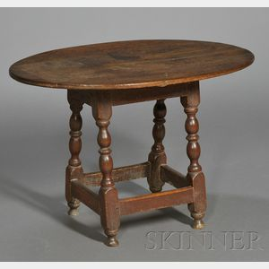 Small Maple and Pine Table