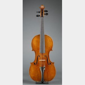 French Violin, Pierre Gaggini, Nice, 1934