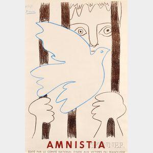Pablo Picasso (Spanish, 1881-1973)      Amnistia