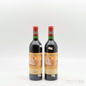 Chateau Ducru Beaucaillou 1982, 2 bottles