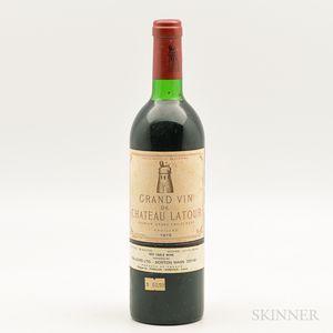 Chateau Latour 1979, 1 bottle
