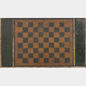 Painted Double-sided Checkerboard