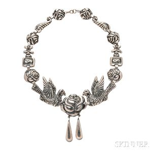 Sterling Silver Necklace, Designcraft
