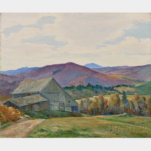 Henry Frederick Saling (American, b. 1901)      October, Maine