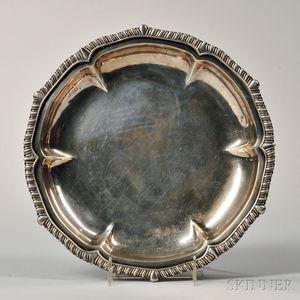 George III Sterling Silver Dish