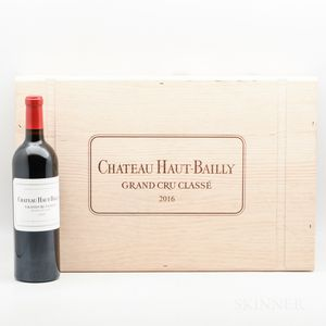 Chateau Haut Bailly 2016, 6 bottles (owc)