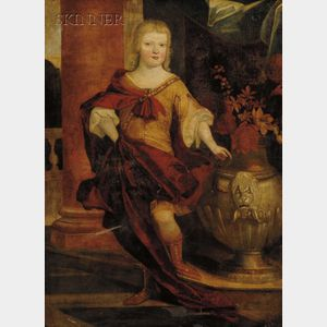 Continental School, 17th Century Style      The Young Nobleman