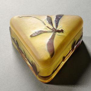 Gallé Covered Box