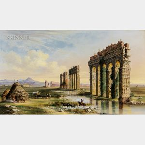 John Linton Chapman (American, 1839-1905)      Claudian Aqueduct