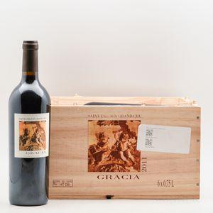 Chateau Gracia 2011, 6 bottles (owc)