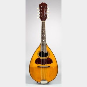 American Mandolin, probably Larson Brothers for Wurlitzer Inc., c. 1915