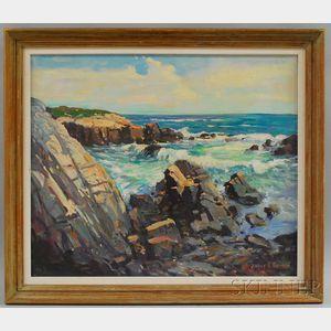 James King Bonnar (American, 1883-1961)      Goose Rocks, Maine