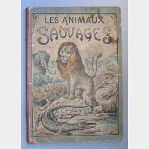 Les Animaux Sauvages d'un Nouveau Syllabaire, Alphabet book