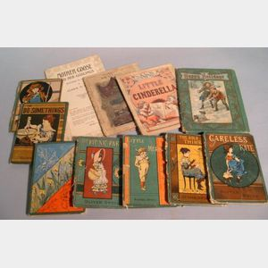 Eleven Early to Late 19th Century Children's Books