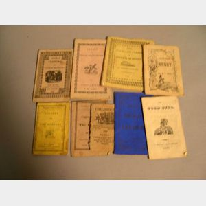 Early to Mid-19th Century Children's Chap Books