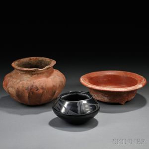Two Mayan Pottery Pieces