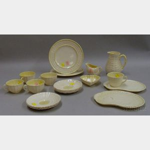 Approximately Nineteen Beleek Shell Dishes