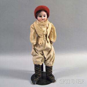 Bisque Shoulder Head Boy Doll