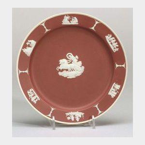 Wedgwood Crimson Jasper Dip Plate