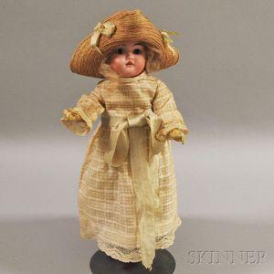 Gebrüder Knoch Bisque Socket Head Girl Doll