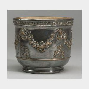 Wedgwood Stoneware Silver Plated Jardiniere