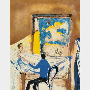 Salvador Dalí (Spanish, 1904-1989)      L'Aventure médicale  /A Suite of Two Works