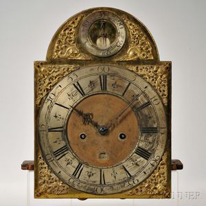 """Thomas Lewis """"Penny Moon"""" Eight-day Movement and Dial"""