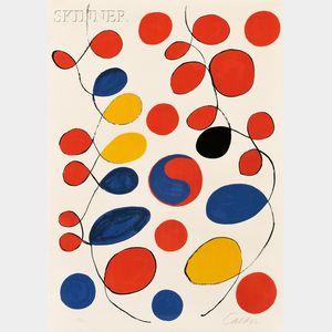 Alexander Calder (American, 1898-1976)      Loops