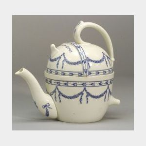 Wedgwood Pearlware S.Y.P. Teapot